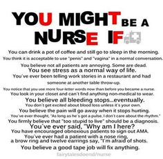 Might Be A Nurse