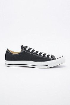 Converse Chuck Taylor Low Trainers in Black #converse #offduty #covetme#blackandwhite#black