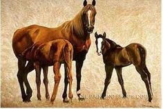 """Large Hand Painted Old Oil Painting Reproduction Animal Horse Paintings For Sale, Size: 36"""" x 24"""", $130. Url: http://www.oilpaintingshops.com/large-hand-painted-old-oil-painting-reproduction-animal-horse-paintings-for-sale-3060.html"""