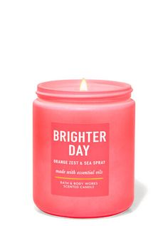 Scented Candles, Candle Jars, Cute Candles, Sea Spray, Aromatic Herbs, Bath And Bodyworks, Orange Zest, Home Fragrances, Smell Good