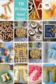 roundup of Pi Day food ideas
