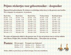 De prijzen van de stickers en de posters - Pimpelpluis - https://www.facebook.com/pages/Pimpelpluis/188675421305550?ref=hl