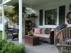 Stacey Pedrick photo - deck out my porch to be primitive this summer!