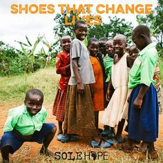 Nothing like a new pair of shoes! These children in the village of Wakisi are stepping into their future jigger free! #ZEROjiggers #ShoesThatChangeLives #Uganda {photo: Morgan Judge}