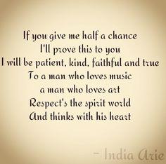 India Arie 'i am ready for love'. Aries Quotes, Sign Quotes, Me Quotes, Qoutes, Music Lyrics, Lyric Art, Soul Music, India Arie, Ready For Love