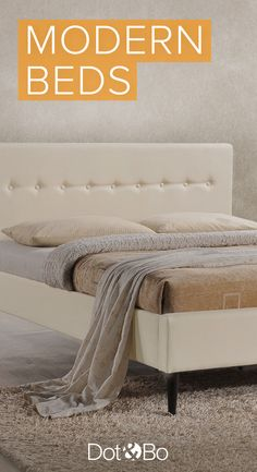 Sleep easy with gorgeous modern bedroom furniture at dotandbo.com