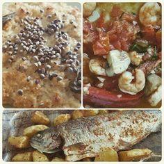 3-Gänge Menü für meine Gäste. #munich #instafood... | Ales Loncar