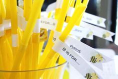 """""""Bee is for baby"""" themed Baby Shower"""