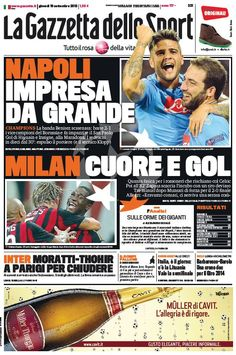 La Gazzetta dello Sport (19-09-13) Italian | True PDF | 40 26 pages | 10,23 10,79 Mb