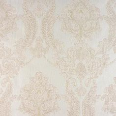 Maizey Cream Damask Wallpaper, Tradition By Advantage and Brewster Wallcovering Damask Wallpaper, Wallpaper Samples, Wallpaper Roll, Pattern Wallpaper, Silver Wallpaper, Wallpaper Ideas, Custom Wallpaper, Distressed Texture, Design Repeats