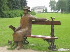 Chateau de la Hulpe, Belgium - One of the parks in the Castle grounds Belgium, Garden Sculpture, Around The Worlds, Palaces, Castles, Outdoor Decor, Parks, Bench, Google