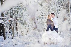 Winter wonderland photo shoot.