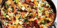 Mexican Food Recipes, Dinner Recipes, Ethnic Recipes, Dinner Ideas, All You Need Is, Skillet Enchiladas, How To Make Enchiladas, One Dish Dinners, Skillet Dinners