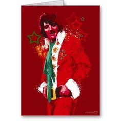 Elvis Is Coming To Town Greeting Card