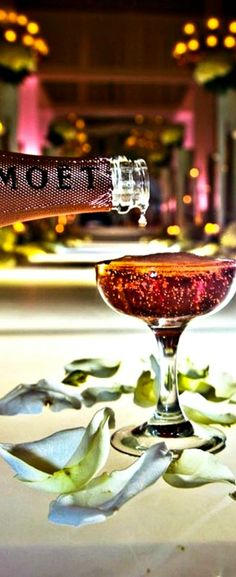 Happy Birthday Karin!! : ))  Pink Moet for you...  Let's cheers and clear that bottle!