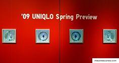 l1100231 UNIQLO Glass Box Spring 2009 Collection Installation
