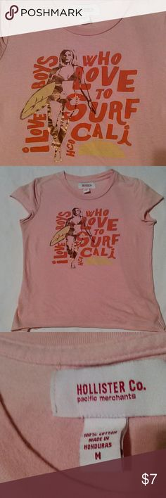LOVE CALI?! HOLLISTER! Size Medium. Short t shirt. Hollister Tops Tees - Short Sleeve