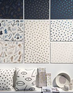 """The latest trends in wallpaper and wall coverings. Remember key word """"trend"""" they are changing constantly so if you know your moving in a few years bypass and stay with the neutral walls."""