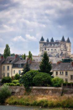 Chateau de Saumur, Pays de la Loire, France