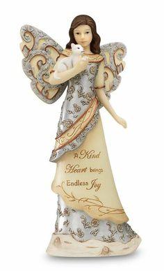 Elements A Kind Heart Angel Figurine by Pavilion, 7-1/2-Inch, Holding Cat, Inscription A Kind Heart Brings Endless Joy Elements,http://www.amazon.com/dp/B004UHW6YW/ref=cm_sw_r_pi_dp_0vdAtb01Q8M4P7RH