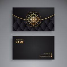 Business Cards Layout, Professional Business Card Design, Gold Business Card, Luxury Business Cards, Floral Frames, Mise En Page Web, Visiting Card Design, Name Card Design, Bussiness Card