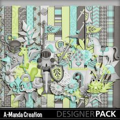 Prince Charming Digital Scrap kit by A-Manda Creation