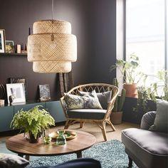 Hoeveel ❤ voor dit toffe hoekje? #inspiratie #woonkamer #STOCKHOLM2017 #fauteuil #STOCKHOLM #salontafel #SINNERLIG #hanglamp #BESTÅ #kast #IKEA #IKEAnederland