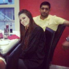 Amir & Faryal Faryal Makhdoom Khan, Diy Origami, Beautiful Couple, Boxer, Bollywood, Hair Beauty, My Love, Couples, Clothes