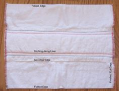 How to Sew Prefold Cloth Diapers - How To Sew Prefold Diapers Source by - Prefold Cloth Diapers, Diy Diapers, Used Cloth Diapers, Baby Shower Diapers, Diaper Cake Instructions, Cloth Diaper Pattern, Baby Sewing Projects, Sewing Ideas, Cloth Pads