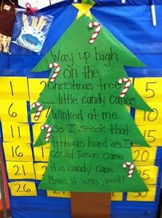 SpEd PreK: Free Download: Way Up High In the Christmas Tree!