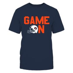 "GAME ON (BLUE) - AUBURN TIGERS T-Shirt, AUBURN TIGERS OFFICIAL APPAREL >>> ALSO AVAILABLE IN ORANGE HERE Limited Edition - Not Sold In Stores Check your size by clicking on ""Buy It Now"".  The Auburn Tigers Collection, OFFICIAL MERCHANDISE  Available Products:          Gildan Unisex T-Shirt - $25.95 Gildan Women's T-Shirt - $27.95 District Women's Premium T-Shirt - $29.95 District Men's Premium T-Shirt - $27.95 Next Level Women's Premium Racerback Tank - $29.95 Gildan Unisex Pullover Hoodie…"