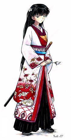 Inuyasha - Rin by yoeki.