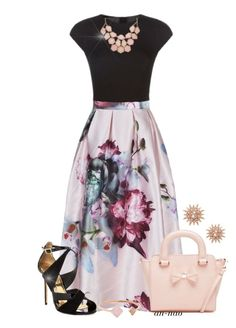 Ted Baker Outfit. by an-nao on Polyvore featuring polyvore, Ted Baker, Kenza Lee, Michael Kors, fashion, style and clothing