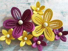 "689 Likes, 9 Comments - Hae Kyoung Kim (@rhodanthe1216) on Instagram: ""quilling flowers #quilling#paperquilling #quillingflowers #quillingart#papercrafts…"""