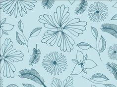Pattern Design for Creative Skinny / Floral Pattern / Organic Pattern