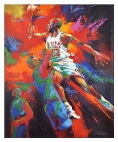 Jordan, Michael Original Artwork,...