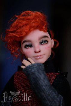 Nude doll Custom Alistair OOAK Repaint by Prescilla