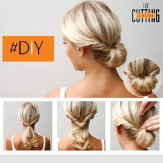 Looking For The Perfect Hairdo Days When You Don T Have A Lot Of Easy Chignonmedium Length Hairs Our