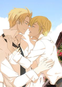 Hetalia (ヘタリア) - Norway x Denmark (DenNor)