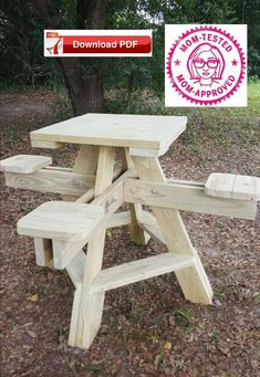 """Check out our website for more details on """"high top tables diy"""". It is an exceptional spot to get more information. Pallet Furniture Plans Step By Step, Pallet Furniture For Sale, Outdoor Furniture Plans, Wood Furniture, Foldable Picnic Table, Diy Picnic Table, Kids Picnic Table Plans, Picnic Area, Top Table Plan"""