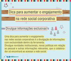Mais uma dica para aumentar o engajamento na rede social corporativa!  Para saber mais sobre como se tornar um Social Business, entre em contato conosco!