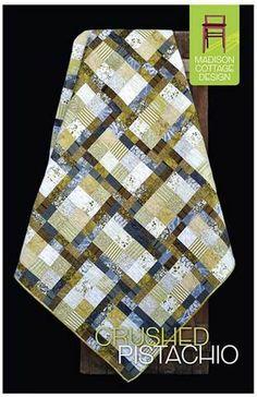 Quilt Pattern - Madison Cottage - Crushed Pistachio