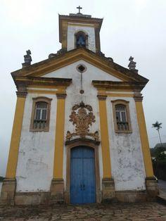 Igreja N. S. das Mercês e Misericórdia - Ouro Preto/MG