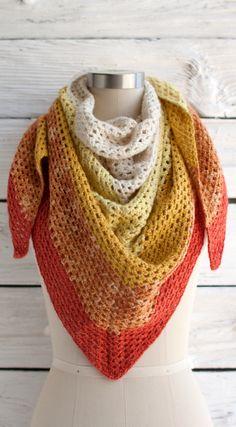 beautiful shawl - pattern