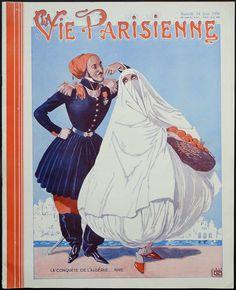 Georges Léonnec (1881 – 1940). La Vie Parisienne, 14 Juin 1930. [Pinned 6-iv-2018]