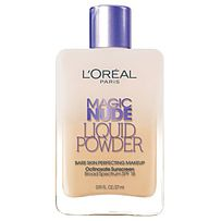 If you're into tinted moisturizer, but want a little bit more coverage, the Magic Nude foundation is great — while it goes on liquid, it becomes a dry and lightweight formula similar to powder foundation. Order it from Amazon for $10.99.