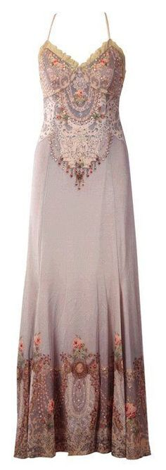 LOVE IT!!!!!!!! Michal Negrin... details details details. beautiful embroidery, ombre colour blend