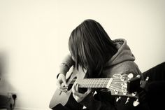 pretty girl with guitar by euanRphoto, via Flickr