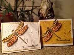 Dragonfly card by Pat Ertman - Gifted Hands Ink