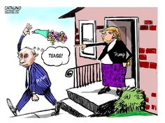Ken Catalino (2017-04-14) : USA - RUSSIA: Trump - Putin